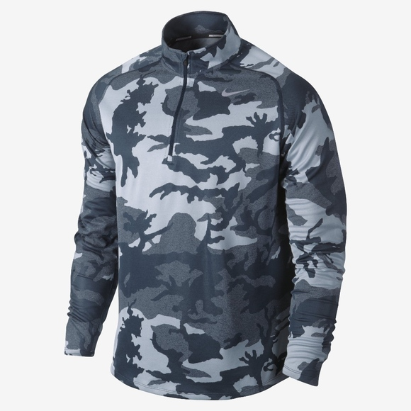 Nike Tops - Nike Dri-Fit Camo Workout Jacket